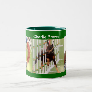 Charlie Brown Doberman Mug