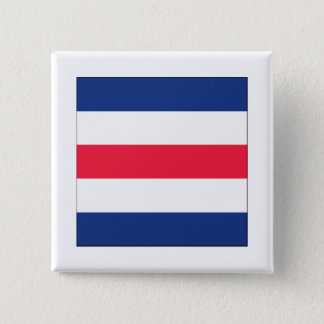 Charlie (C) Signal Flag 15 Cm Square Badge
