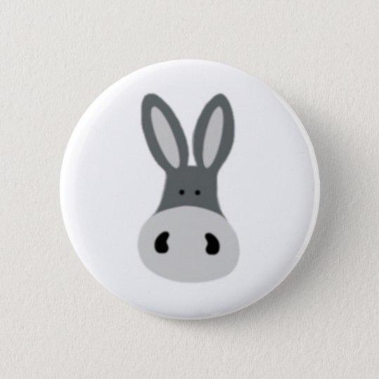 Charlie Donkey 6 Cm Round Badge