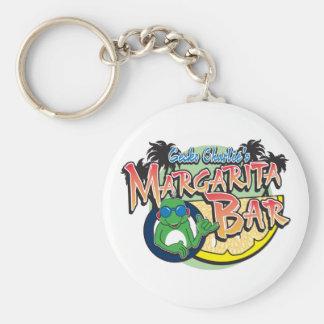Charlie Geckos Margarita Bar Basic Round Button Key Ring