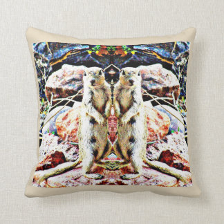 """Charlie Ground Squirrel"" Polyester Throw Pillow"