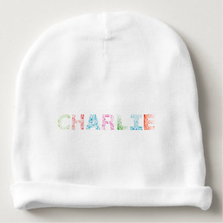 Charlie Letter Name Baby Beanie