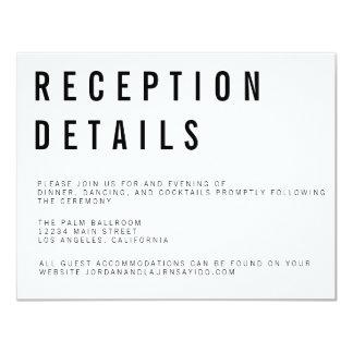 Charlie Minimalist Enclosure Card