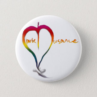 Charlie Nusance Rainbow Button