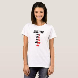 CHARLIE PUTH - HOW LONG white T-Shirt