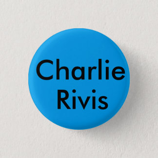 Charlie rivis brooklyn bage 3 cm round badge