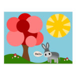 Charlie the Donkey Hello Card Post Cards