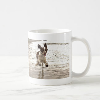 Charlie The Springer! Basic White Mug