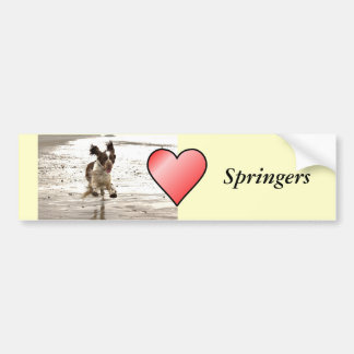 Charlie The Springer Bumper Sticker