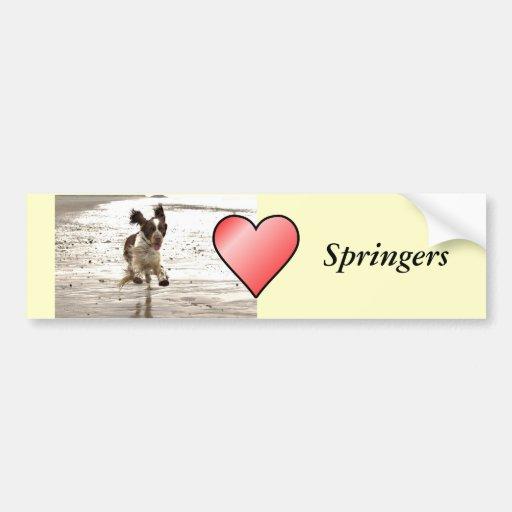 Charlie The Springer Bumper Sticker