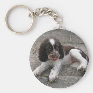 Charlie The Springer! Key Ring