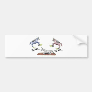 "Charlie the Unicorn ""Glub Glub"" Bumper Sticker"