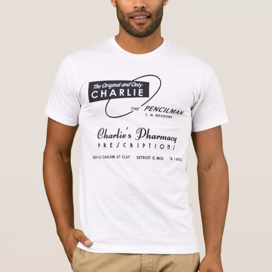 Charlie's Pharmacy Detroit T-Shirt