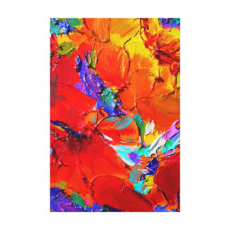 """Charlit's Floral"" Fine Art by Susi Franco Stretched Canvas Prints"