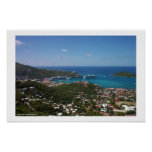 Charlotte Amalie Harbour Poster