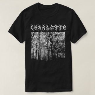 Charlotte Black Metal T-shirt Metalshirt