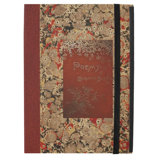 Charlotte Bronte Poems Vintage Book Cover