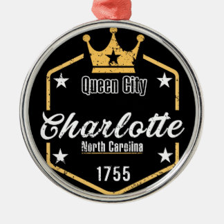 Charlotte Christmas Ornament