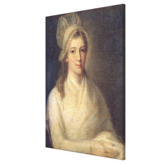 Charlotte Corday Gallery Wrap Canvas