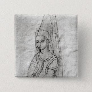 Charlotte de Savoie 15 Cm Square Badge