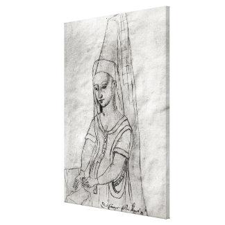 Charlotte de Savoie Canvas Print