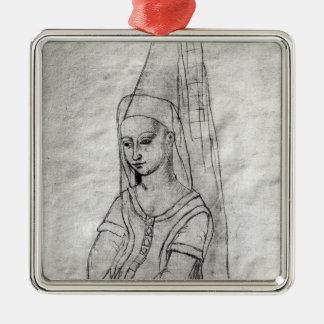 Charlotte de Savoie Christmas Ornament