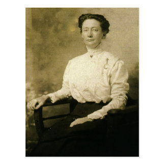 Charlotte E. 'Lottie' (JACOBS) ZARFOS circa 1910 Postcard