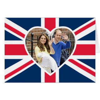 Charlotte Elizabeth Diana - British Will Kate Greeting Card
