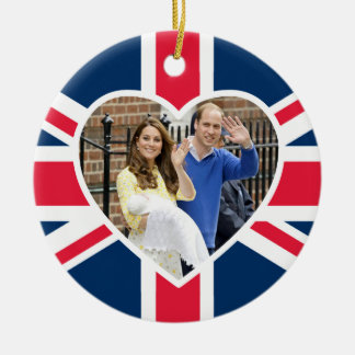 Charlotte Elizabeth Diana - British Will Kate Christmas Ornament