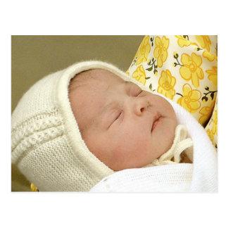 Charlotte Elizabeth Diana - British Will Kate Postcard