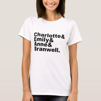 Charlotte Emily Anne Branwell | Bronte Siblings T-Shirt