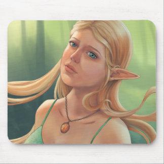 Charlotte - Fantasy Elven Portrait Mouse Mat