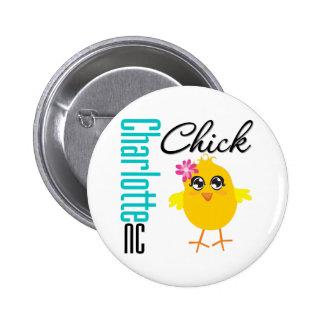 Charlotte NC Chick Button