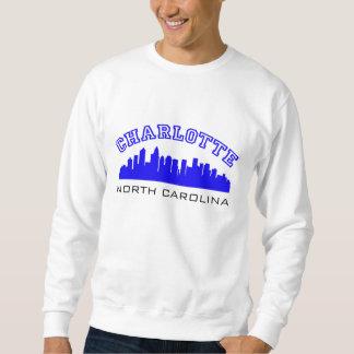 Charlotte NC Outline Sweatshirt