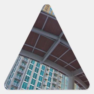 charlotte nc queen city triangle sticker
