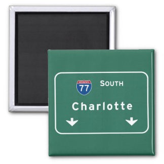 Charlotte North Carolina nc Interstate Highway : Magnet