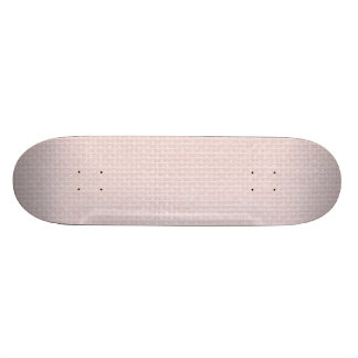 Charlotte Pink-Baby Princess Pink-Burlap Pillow Custom Skateboard