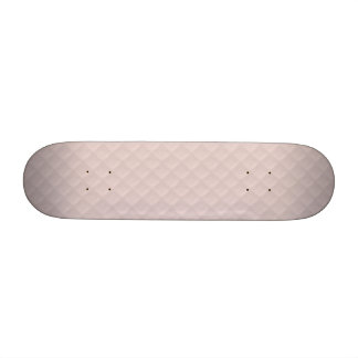Charlotte Pink-Baby Princess Pink-Square Quilted Skate Board Decks
