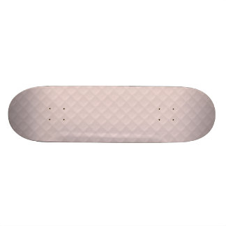Charlotte Pink-Baby Princess Pink-Square Quilted Custom Skateboard