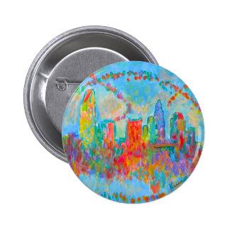 Charlotte Spiral 6 Cm Round Badge