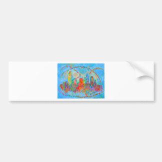 Charlotte Spiral Bumper Sticker