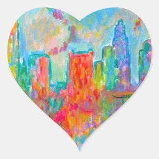 Charlotte Spiral Heart Sticker