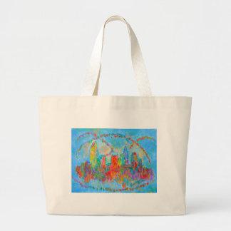 Charlotte Spiral Jumbo Tote Bag