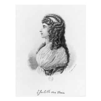 Charlotte von Stein, born von Schardt, late Postcard