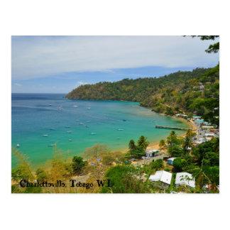 Charlotteville, Tobago W.I. Postcard