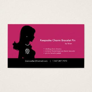 Charm Bracelet Business Card