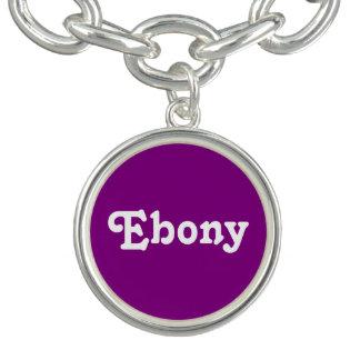Charm Bracelet Ebony