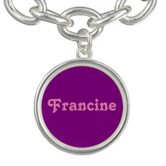 Charm Bracelet Francine