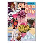 Charm City Hon Cards