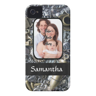 Charm collage photo template Case-Mate iPhone 4 case